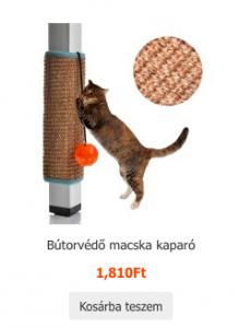 bútorvédő macskakaparó