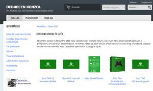 Xbox játék webáruház